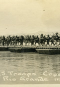 Troops crossing the Rio Grande   (click for a larger preview)