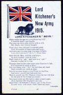 Lord Kitchener's New Army   (click for a larger preview)