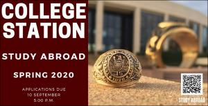 College Station Study Abroad Spring 2020   (click for a larger preview)