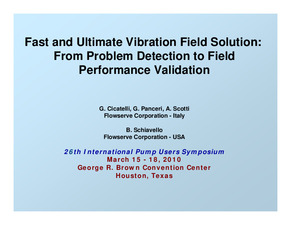 Fast And Ultimate Vibration Field Solution: From Problem