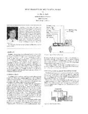 Heat Transfer In Mechanical Seals