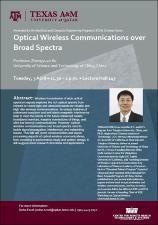 Optical Wireless Communications over Broad Spectra   (click for a larger preview)