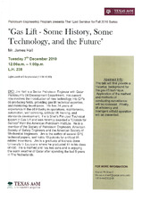 Gas Lift - Some History, Some Technology, and the Future   (click for a larger preview)