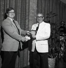 1975 Honors Convocation, number 01   (click for a larger preview)