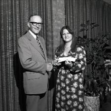 1975 Honors Convocation, number 05   (click for a larger preview)