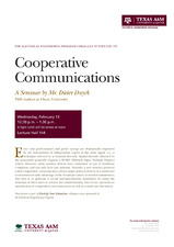 Cooperative Communications   (click for a larger preview)