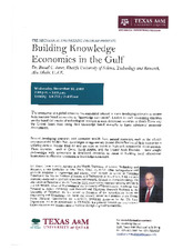 Building Knowledge Economies in the Gulf   (click for a larger preview)