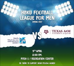 HBKU Footbal League for Men Spring 2017   (click for a larger preview)