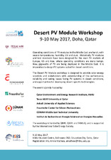 Desert PV Module Workshop   (click for a larger preview)