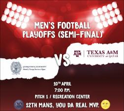 Men's Football Playoffs (Semi-Final) 2017   (click for a larger preview)